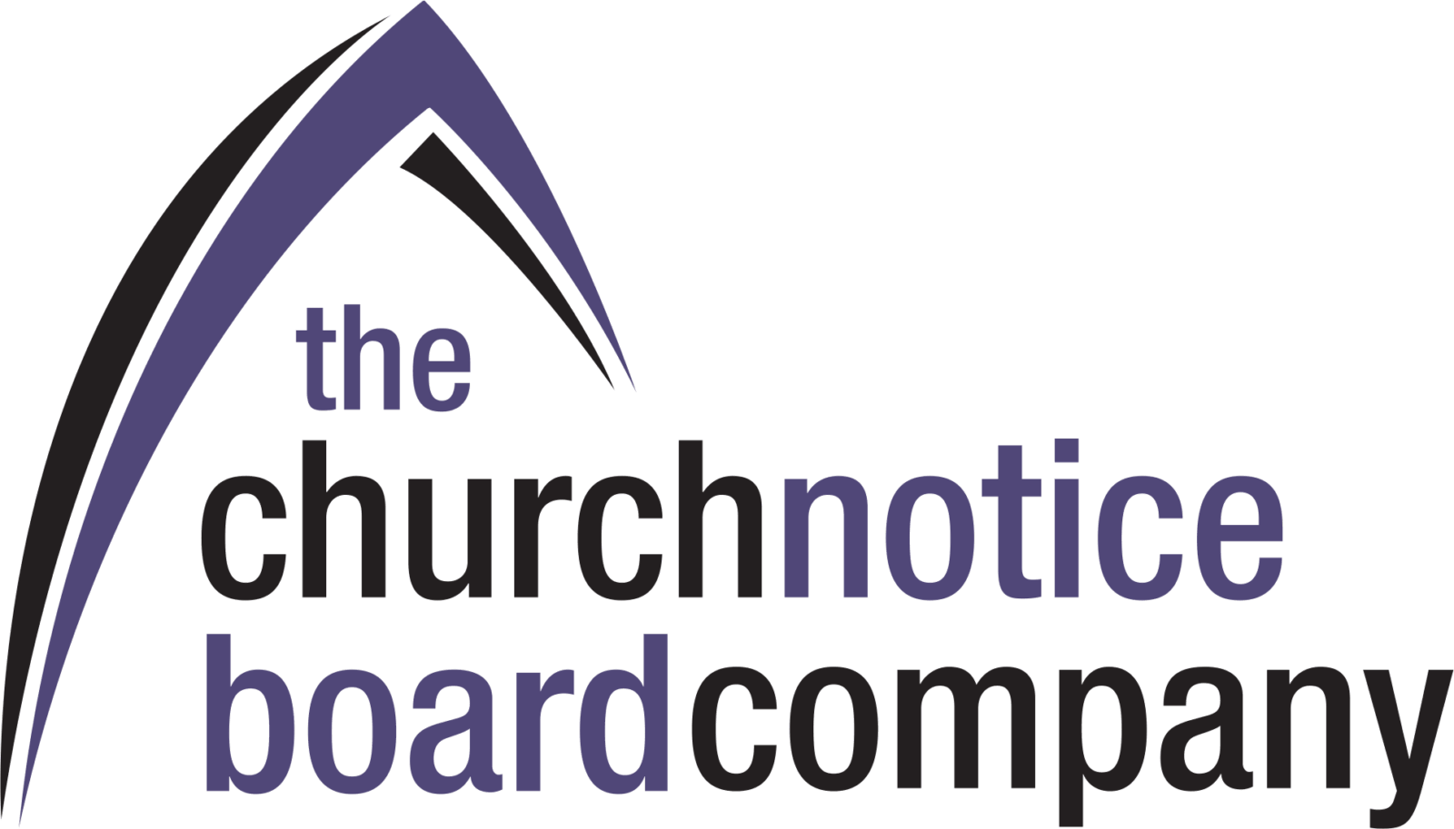 church notice board company logo